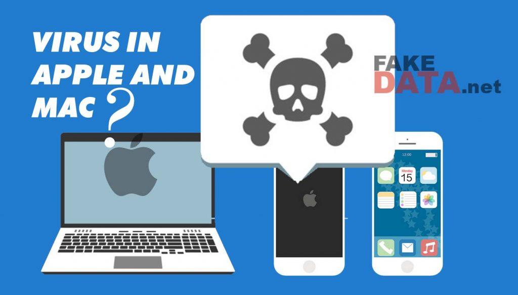 Virus in Apple and Mac