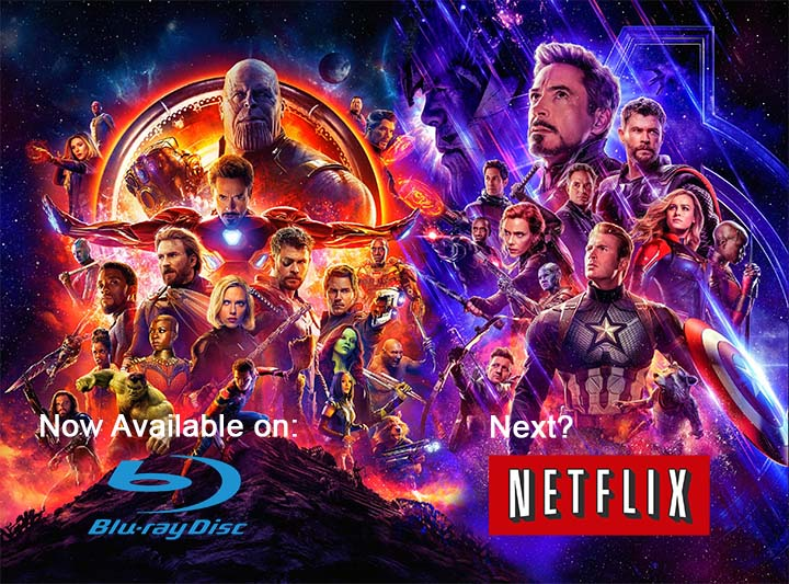 AVENGERS: End Game Coming in Blu-Ray