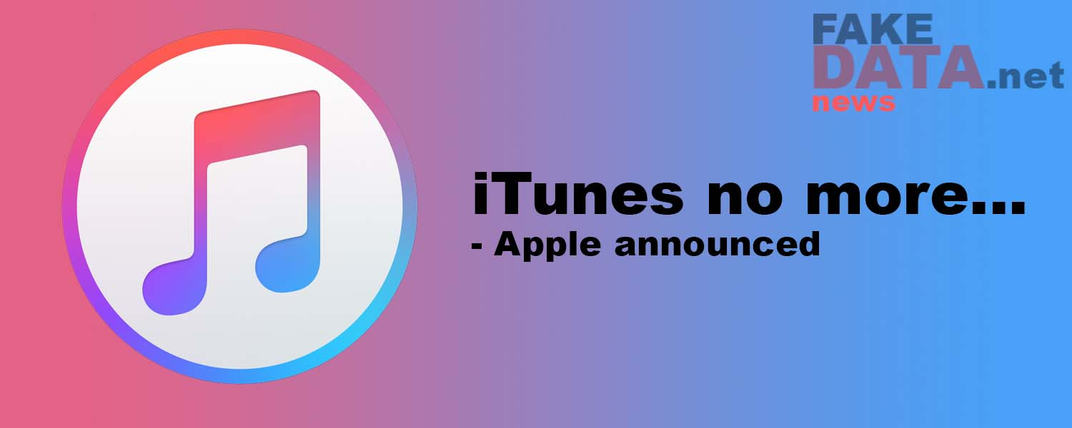End of iTunes – Apple Announced
