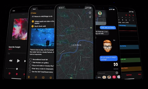 iOS13: DARK MODE ON!
