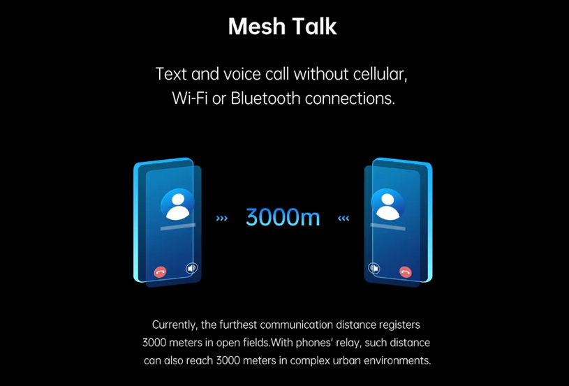 MeshTalk with Oppo – No need for Internet, Bluetooth or Network!