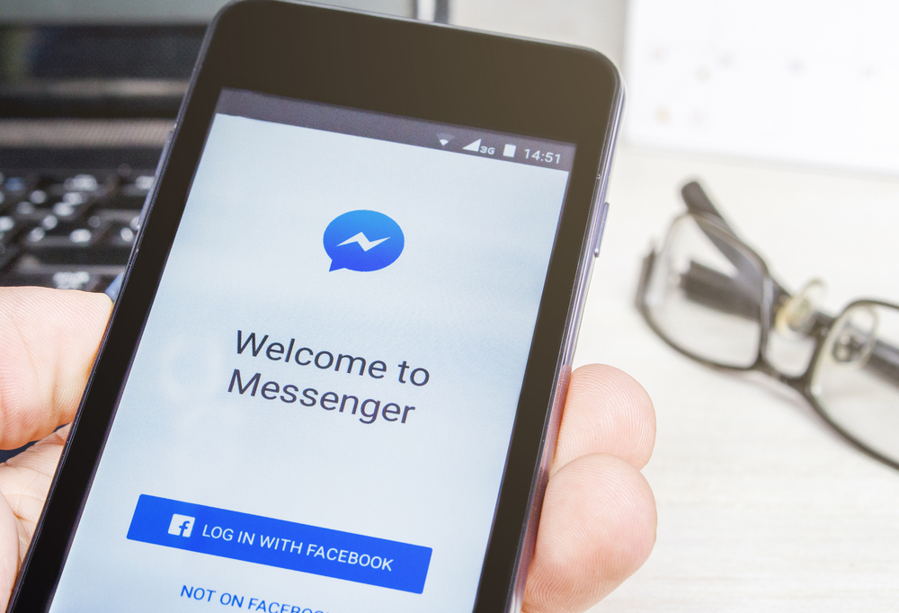 How to delete messages on messenger app